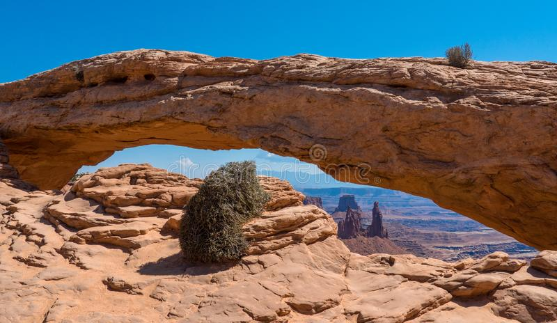 canyonlands park narodowy usa Utah zdjęcie stock