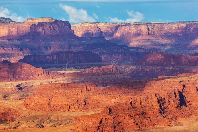 Canyonlands fotografia stock