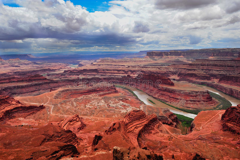 canyonlandsnationalpark royaltyfri foto