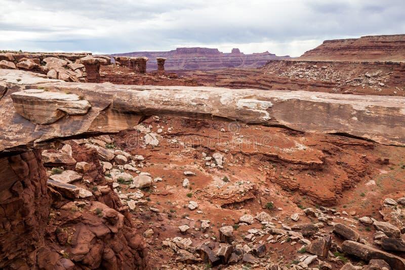 canyonlandsnationalpark USA utah royaltyfria foton