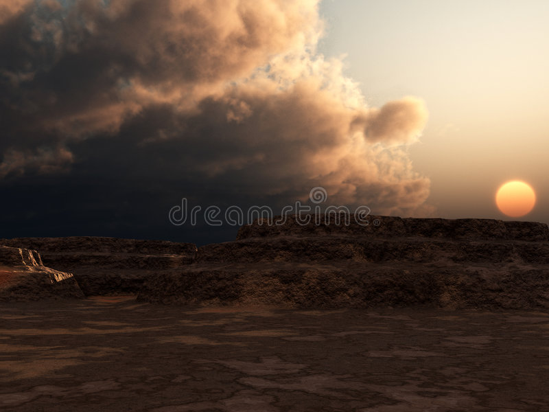 Download Canyons 19 stock image. Image of barren, landscape, dawn - 4377141