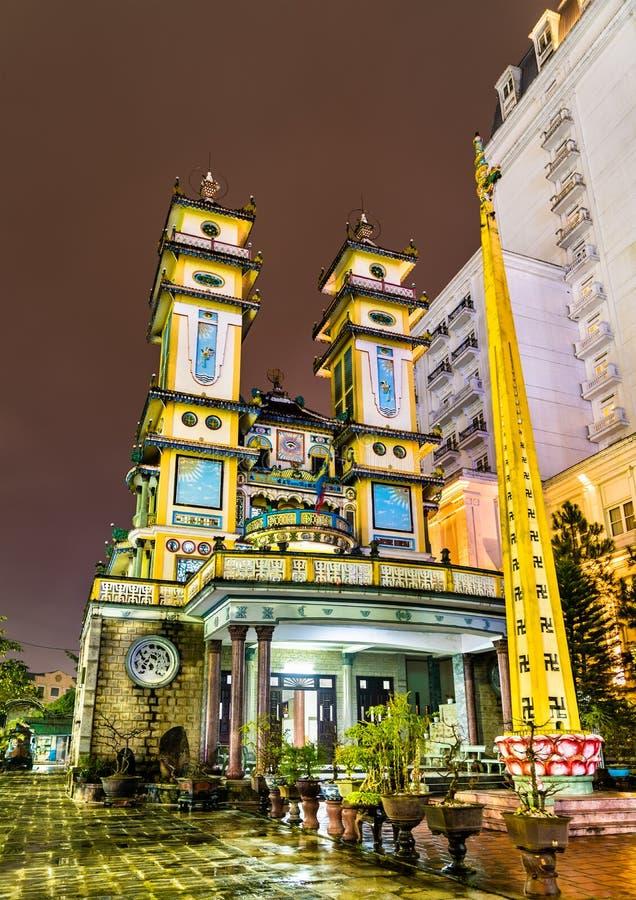 Cao Dai świątynia w odcieniu, Wietnam obrazy stock