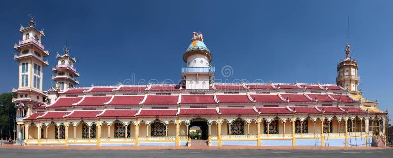 Cao Dai świątynia. Wietnam zdjęcie stock