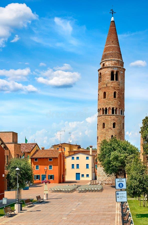 Caorle Italy Venezia provincial city village royalty free stock photos
