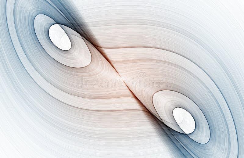 Caos ilustración del vector