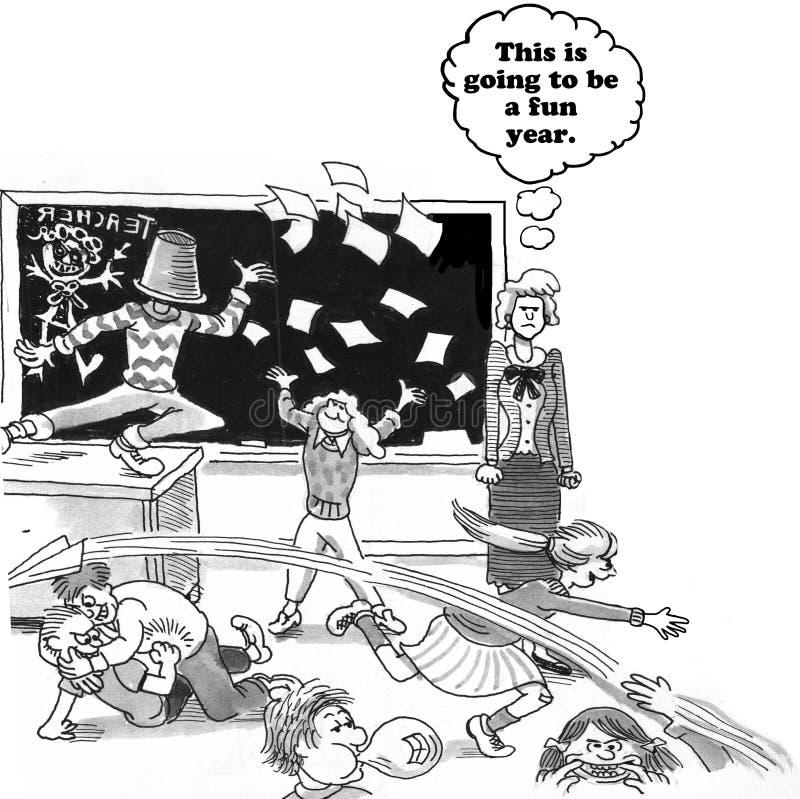 caos ilustração do vetor