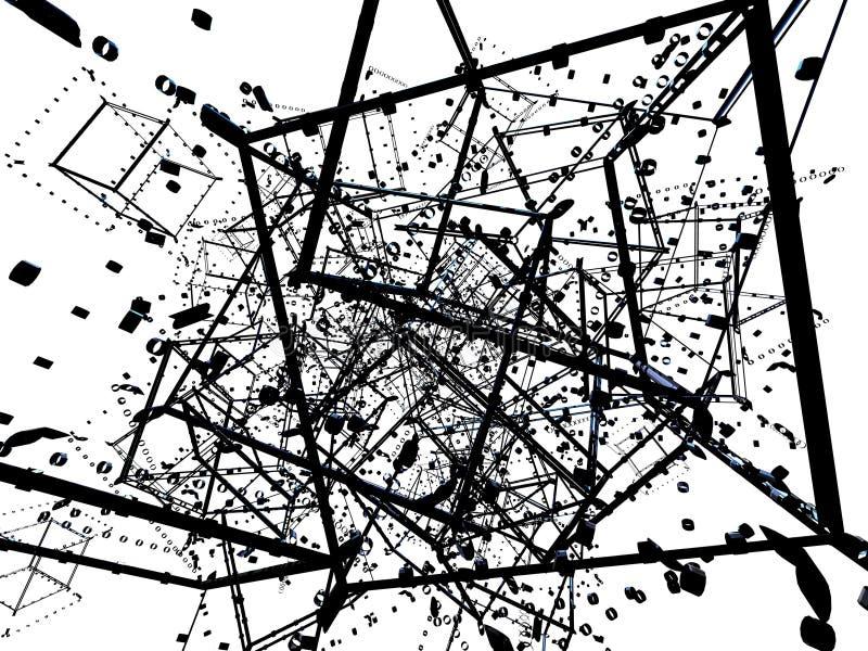 Caos abstracto libre illustration