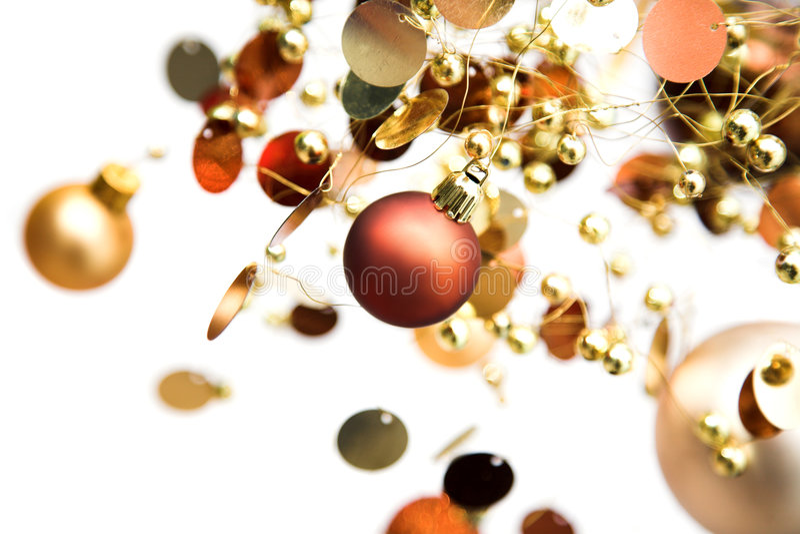 Caos de la Navidad imágenes de archivo libres de regalías