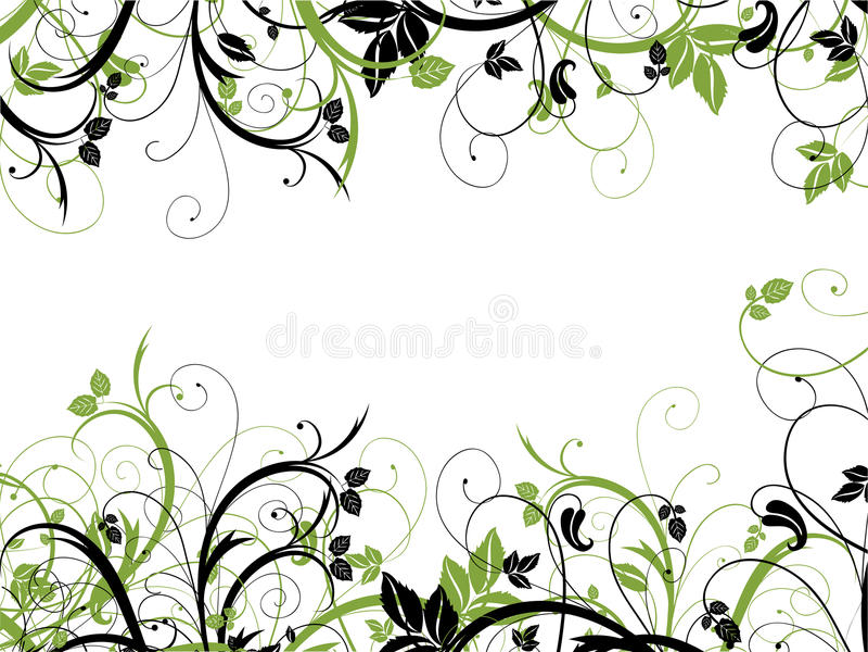 Caos floreale royalty illustrazione gratis