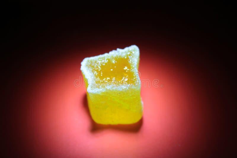 Caoutchouteux multi sans couture de dessert de sucreries de gelées de fruit photographie stock