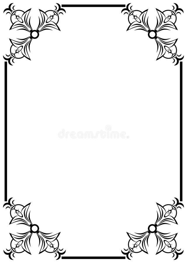 Download Capítulo ilustración del vector. Ilustración de ornamento - 7284038