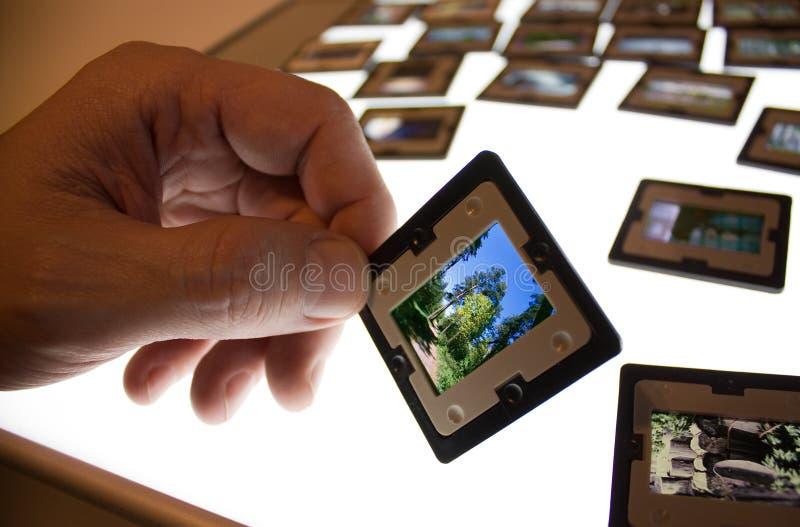 Capítulo con las diapositivas imagen de archivo libre de regalías