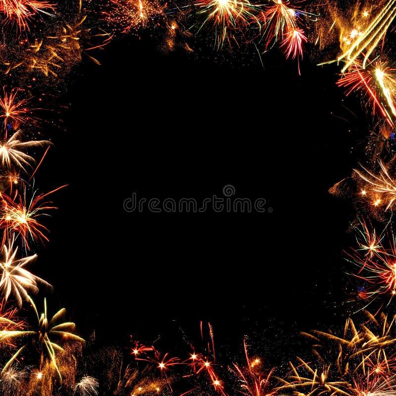 Capítulo de fuegos artificiales imágenes de archivo libres de regalías