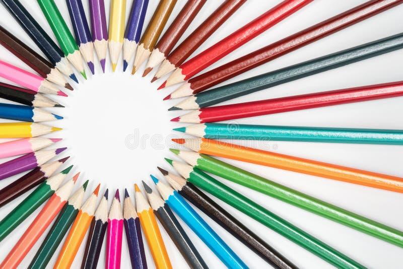 Capítulo de lápices fotos de archivo libres de regalías
