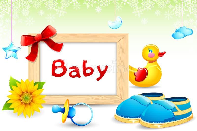 Capítulo de la foto con el item del bebé libre illustration