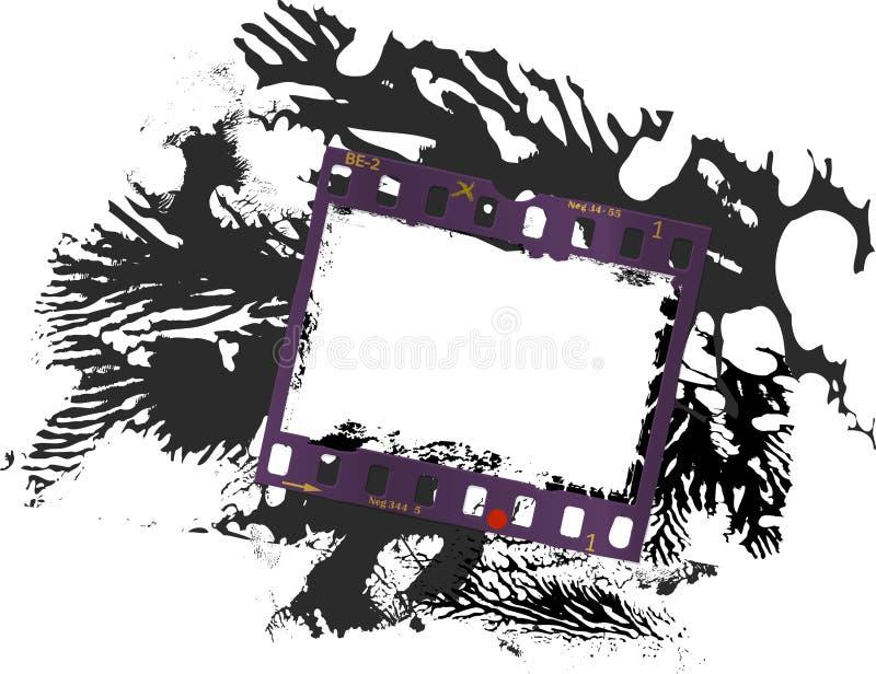 Capítulo de la película, marco sucio de la foto libre illustration