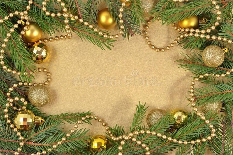 Capítulo de las decoraciones de la Navidad imagenes de archivo