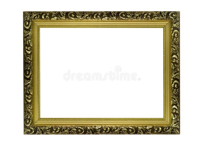 Capítulo de oro horizontal para el cuadro o el retrato fotografía de archivo libre de regalías