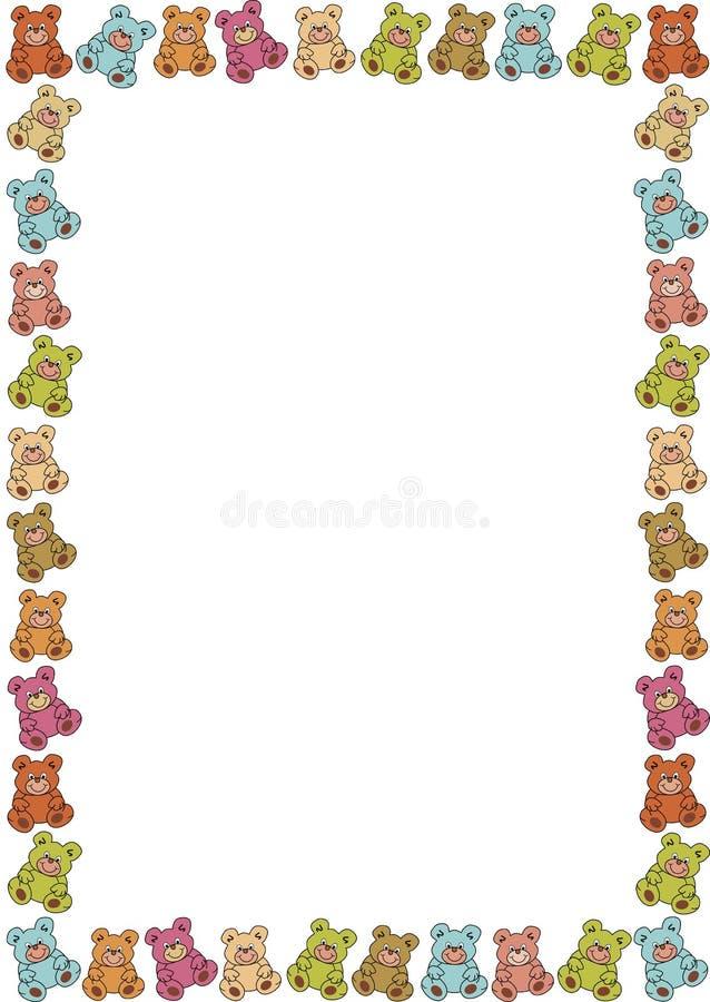 Capítulo de teddybears stock de ilustración