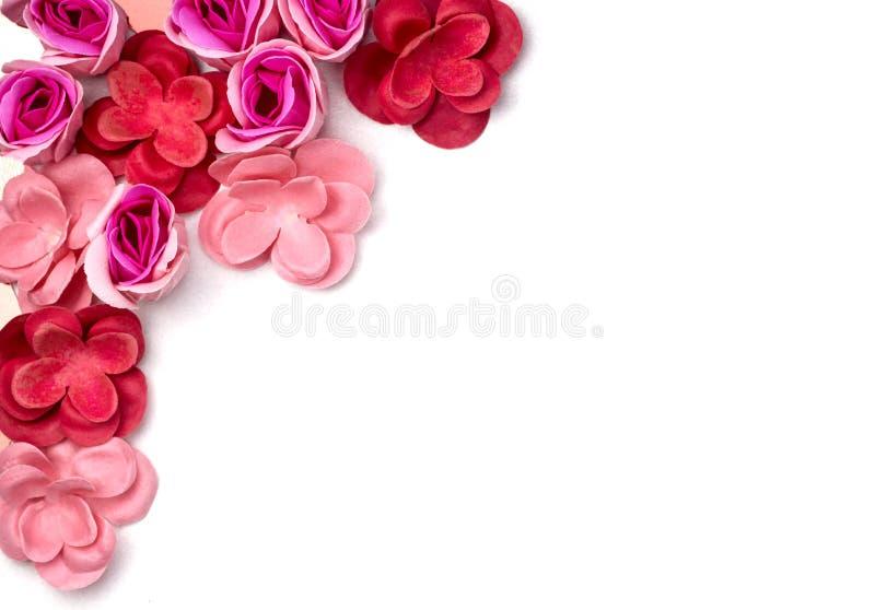 Capítulo del color Aislado Tarjeta de felicitación flatlay fotos de archivo libres de regalías
