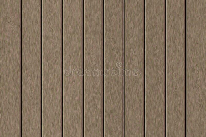 Capítulo llenado de la imitación de tablones de madera grisáceos ilustración del vector
