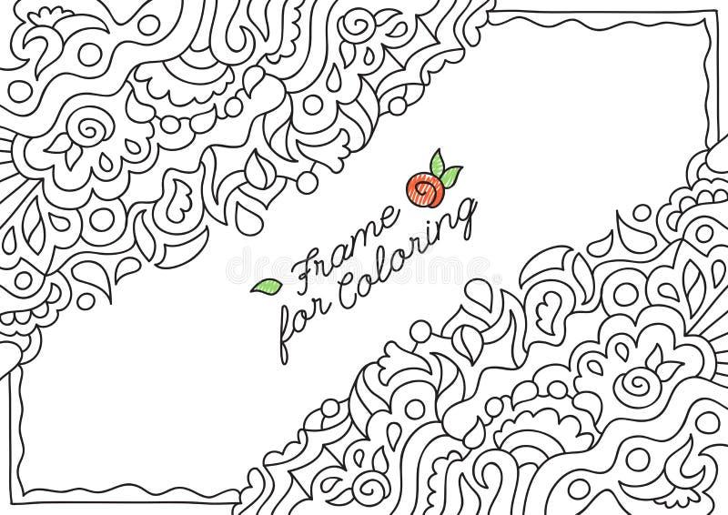 Capítulo para colorear libre illustration