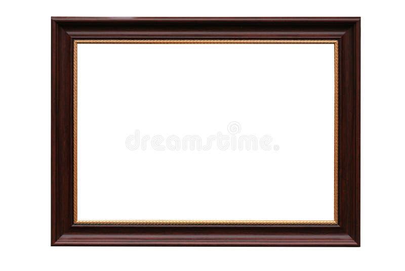 Capítulo para el cuadro del baguette en blanco fotografía de archivo libre de regalías