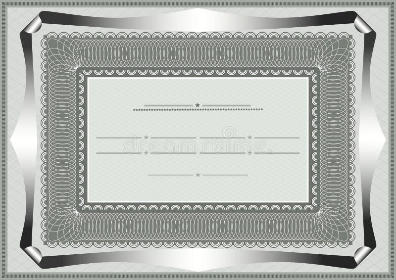 Capítulo para el documento oficial stock de ilustración