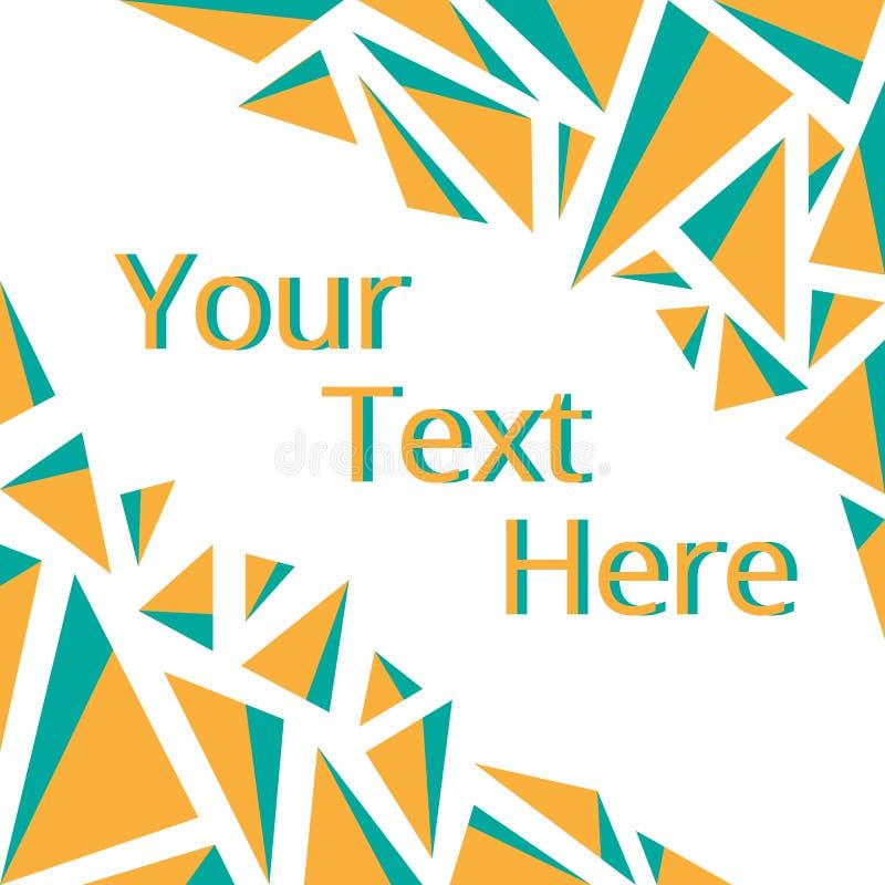Capítulo para su texto ilustración del vector