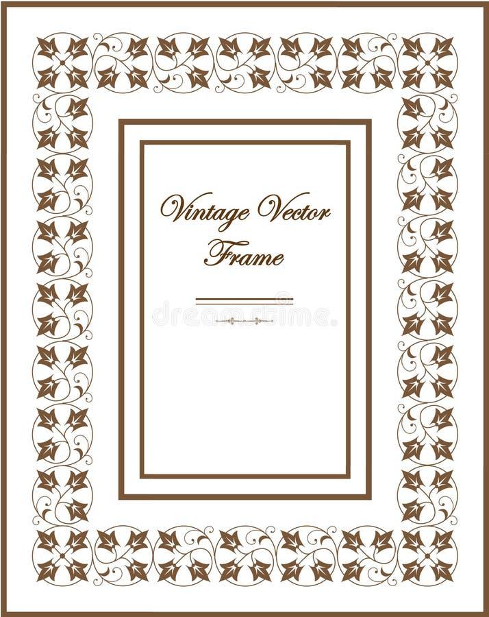 Capítulo v del vector del vintage 1 imágenes de archivo libres de regalías