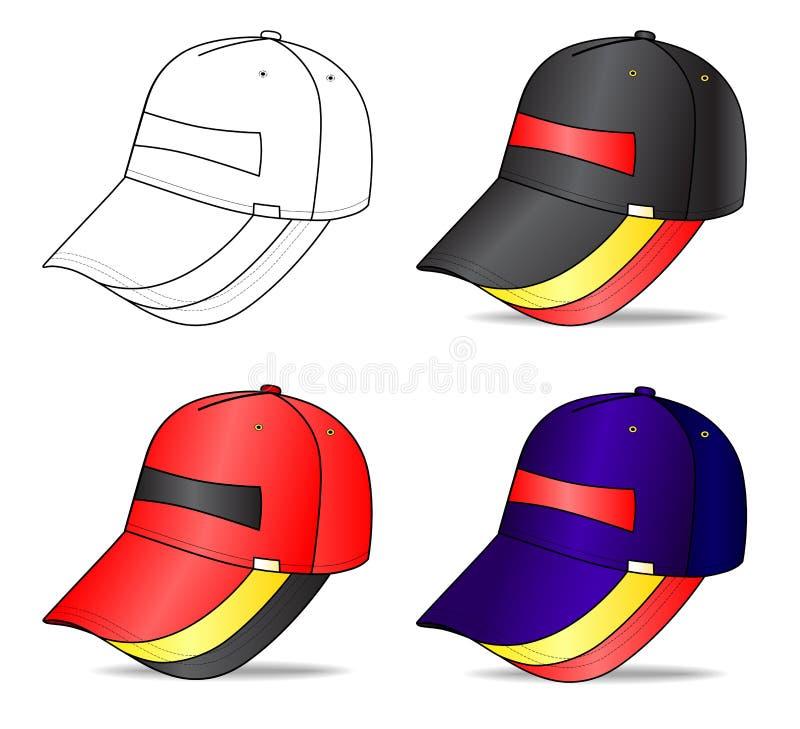 Download Cap stock vector. Illustration of visor, uniform, isolated - 12318142