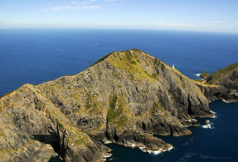 Cap Brett - compartiment des îles photo libre de droits