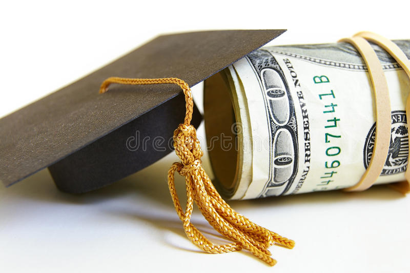 Download Cap and cash stock image. Image of professional, salary - 24145321