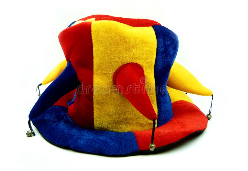 Cap of the clown royalty free stock image