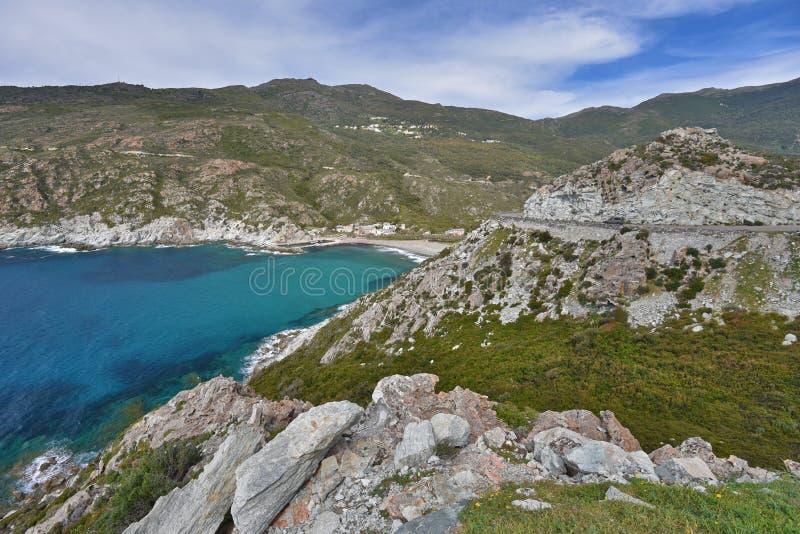 Cap Corse fotografia de stock royalty free