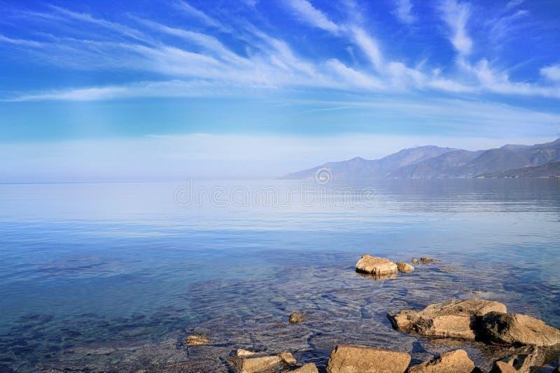 Cap Corse Sous Un Ciel Azuré Photos stock
