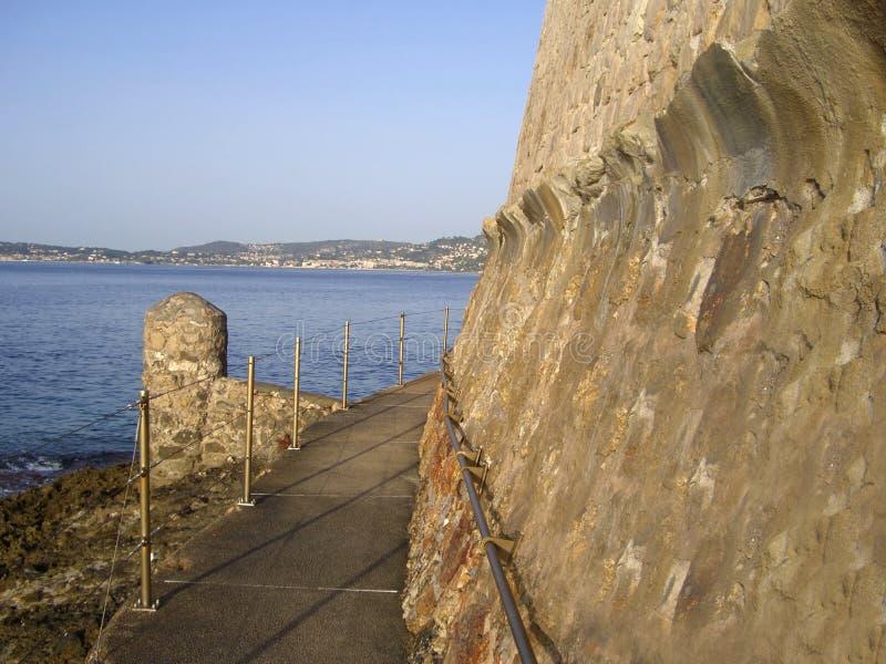 Download Cap d'AIL stock photo. Image of walking, azur, path, coast - 6989312