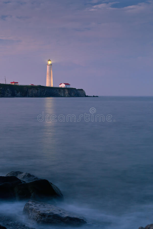 Free Cap-des-Rosiers Lighthouse 1 Stock Photography - 15116612