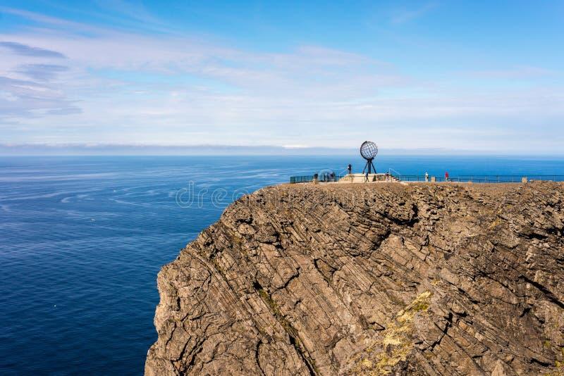 Cap du nord dans Finnmark, Norvège du nord photos libres de droits