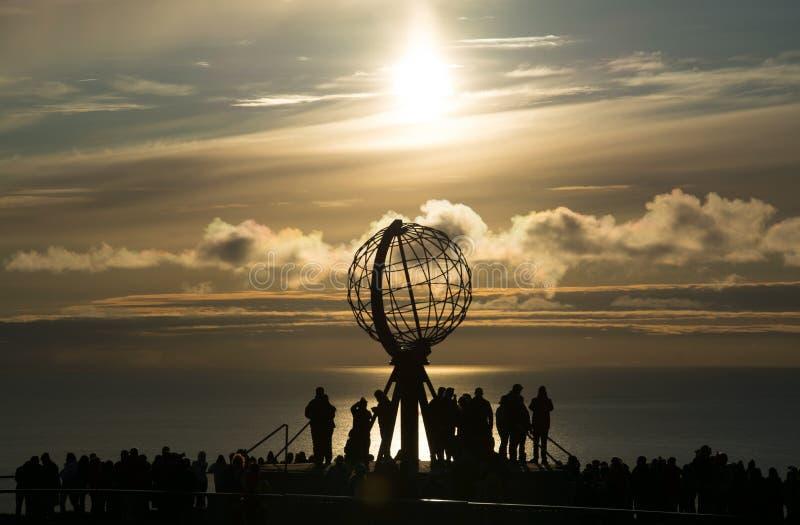 Cap du nord, Norvège photographie stock libre de droits
