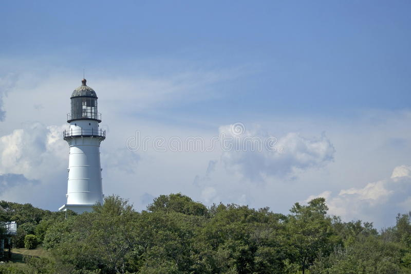 Cap Elizabeth Lighthouse image stock