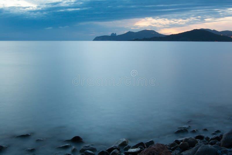 Cap Falco, Ibiza, Islas Baleares, España royalty free stock image