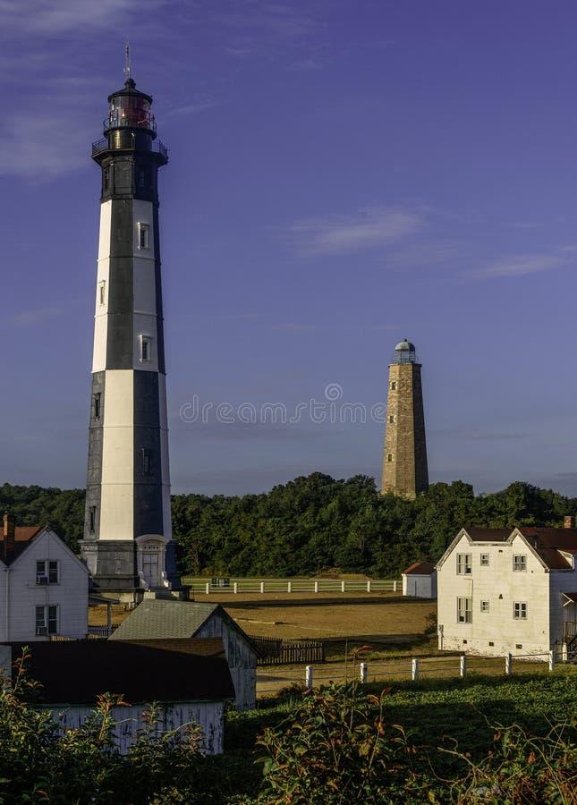 Cap Henry Lighthouses photos libres de droits