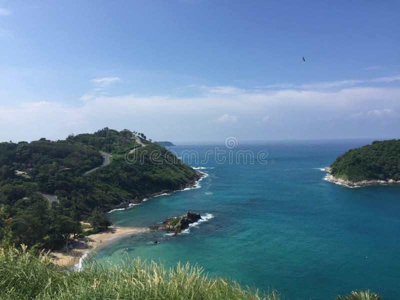 Cap Phuket de Promthep images stock