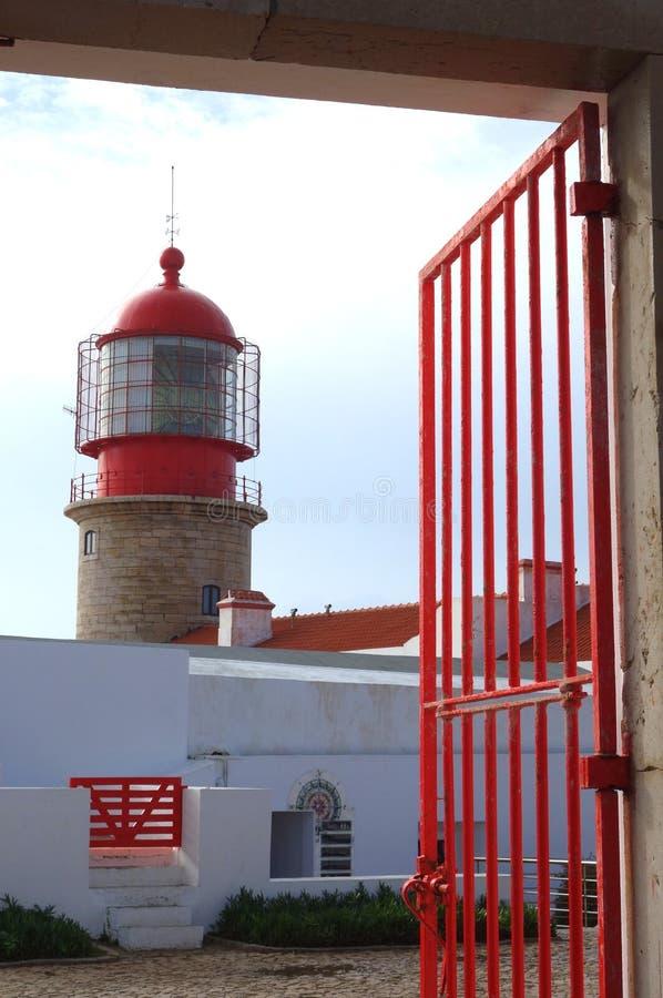 Cap St Vincent de phare photo stock