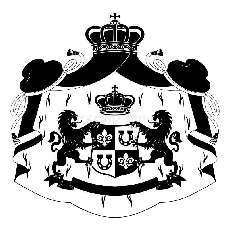 Download Capa de brazos ilustración del vector. Imagen de medieval - 20740521