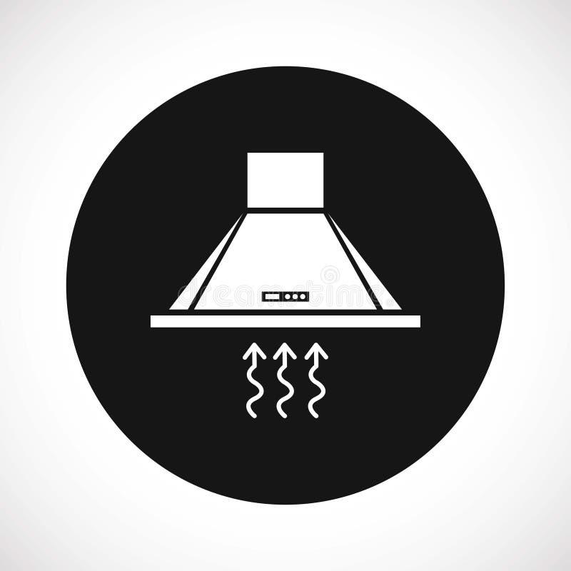 Capa de fogão ilustração stock