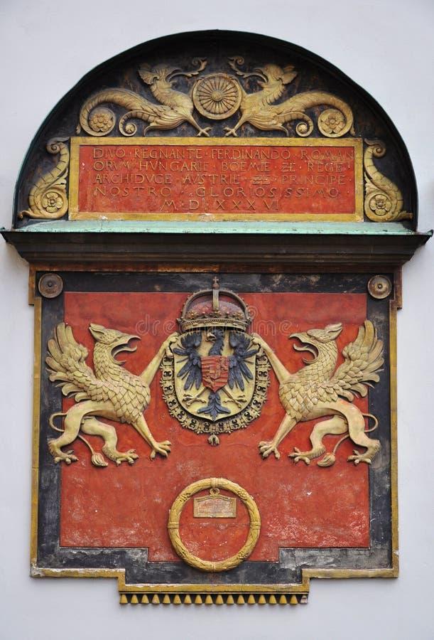 Capa de los brazos Austria foto de archivo