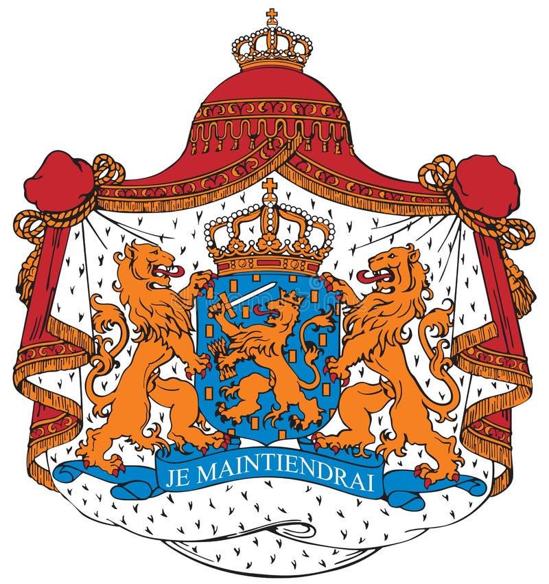 Capa De Los Brazos De Los Países Bajos Imagenes de archivo