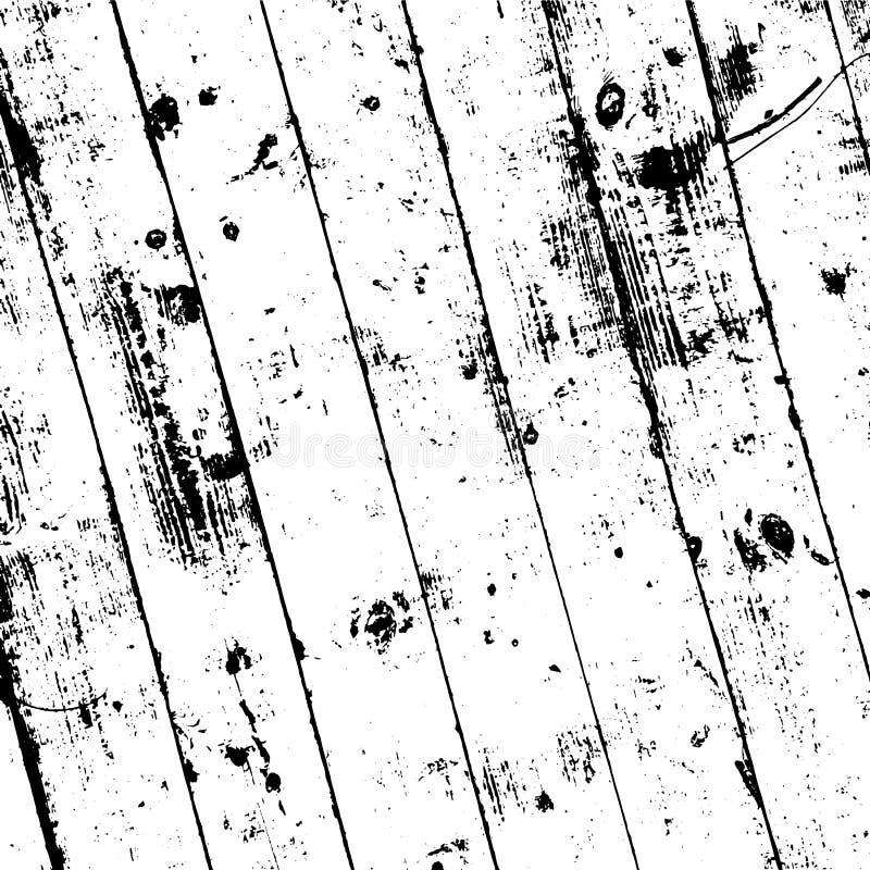 Capa de madera del tablón ilustración del vector